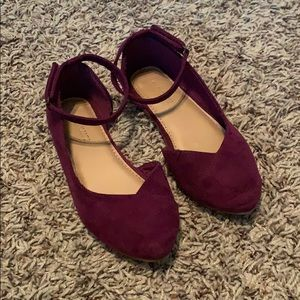 Old Navy Faux Suede Flats